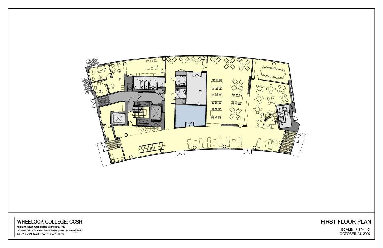 Wheelock college for Floor plans boston college