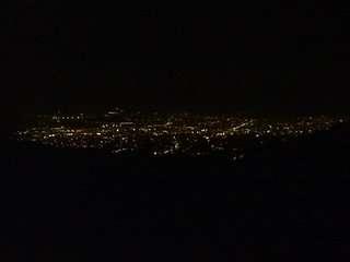 pogled na Zagreb noću